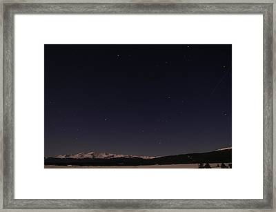 Stars Over Sawatch Framed Print by Jeremy Rhoades