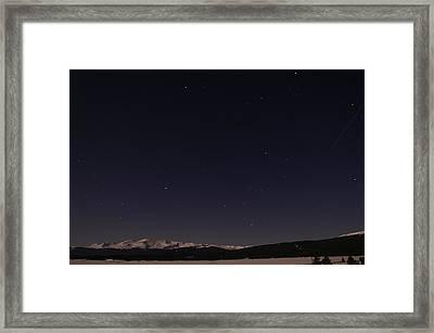 Stars Over Sawatch Framed Print