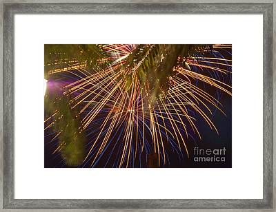 Stars Over St. Lucie Framed Print by Lynda Dawson-Youngclaus