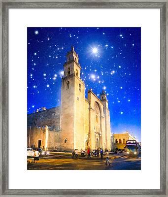 Stars Shine On Merida Framed Print