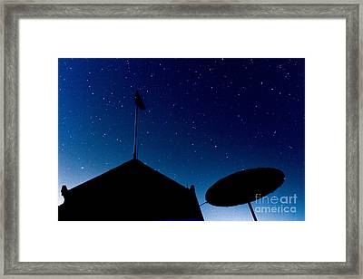 Stars Framed Print by Stelios Kleanthous