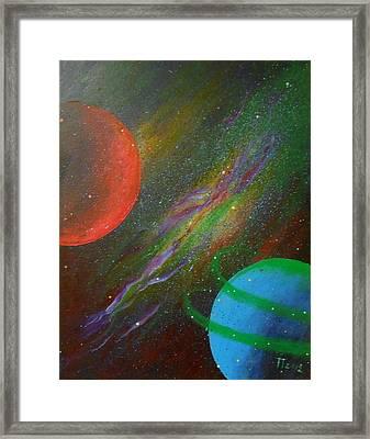 Stars Framed Print by Tomislav Neely-Turkalj