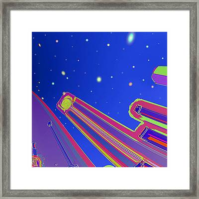 Starscrapers Framed Print by Wendy J St Christopher