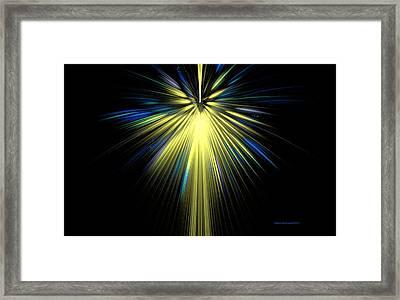 Starshine Framed Print by Naomi Richmond