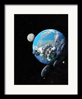 Starship Paintings Framed Prints