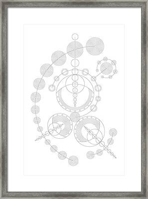 Starship Framed Print by DB Artist