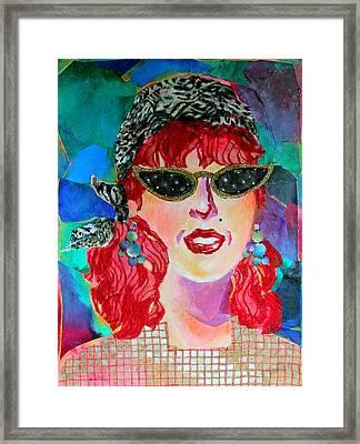 Starstruck Framed Print by Diane Fine