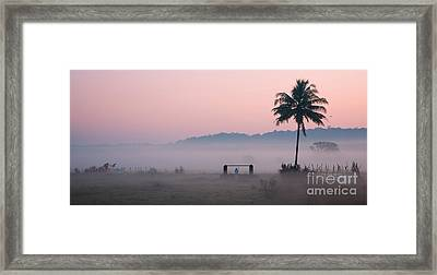 Start Framed Print by Dattaram Gawade