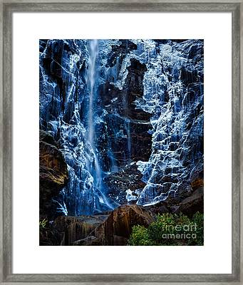 Start Of Spring Bridalvail Fall Framed Print