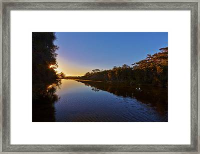 Start Of The Day Framed Print