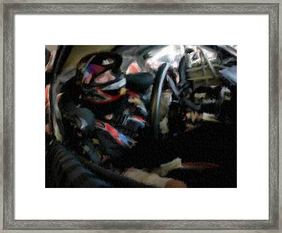 Start Your Engines Framed Print