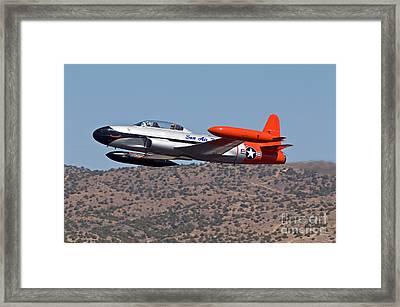 Starter Plane- T33 Framed Print by Steve Rowland