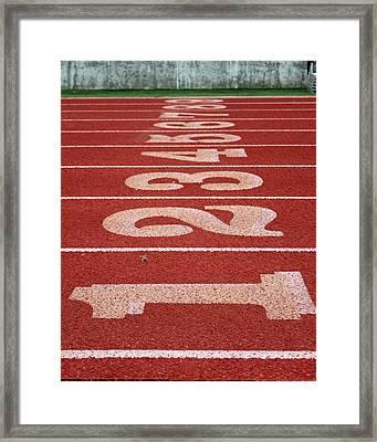 Starting Line Framed Print by Shoal Hollingsworth