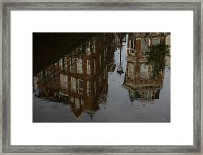 Framed Print featuring the photograph Starting To Rain... by Georgia Mizuleva