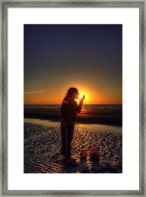Starting Your Day Framed Print by Greg and Chrystal Mimbs