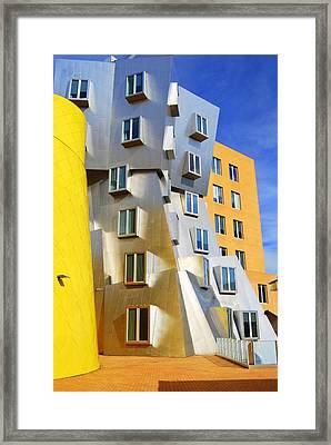 Framed Print featuring the photograph Stata Building At M I T by Caroline Stella