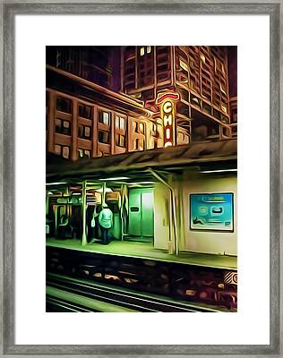 State And Lake Framed Print by Scott Norris