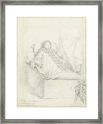 State Bed Princess Governess, Anna Of Hanover Framed Print