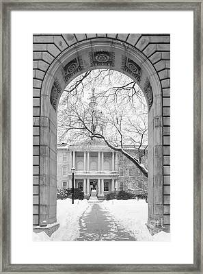 State Capital Building Concord New Hampshire 2015 Framed Print by Edward Fielding