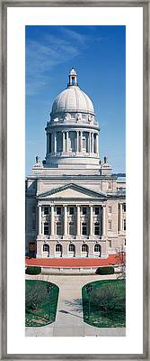 State Capitol Of Kentucky, Frankfort Framed Print