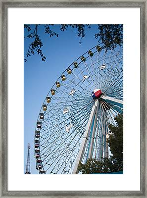 State Fair Time In Texas Framed Print