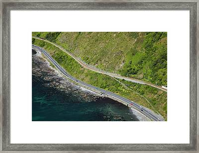 State Highway One And North Island Main Framed Print by David Wall