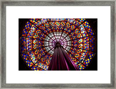 State House Dome Framed Print