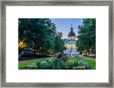 State House Garden Framed Print by Rob Sellers