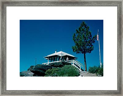 State Line Lookout 1956 2 Framed Print by Cumberland Warden
