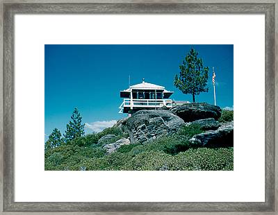 State Line Lookout 1956 3 Framed Print by Cumberland Warden