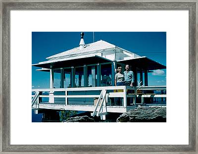 State Line Lookout 1956 Framed Print by Cumberland Warden