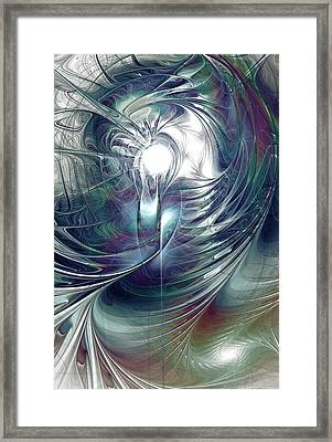 State Of Flux Framed Print by Anastasiya Malakhova