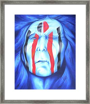 State Of The Nation Framed Print by Robert Martinez