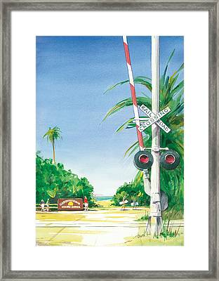 State Park Framed Print by Ray Cole
