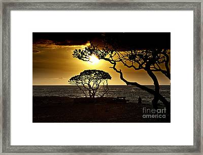 State Park Sunset Framed Print by Karl Voss