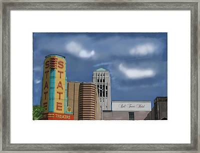 State Theater Framed Print by C A Soto Aguirre
