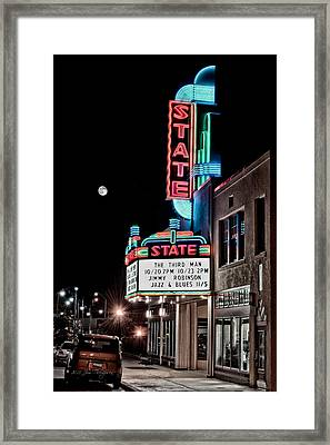 Framed Print featuring the photograph State Theater by Jim Thompson