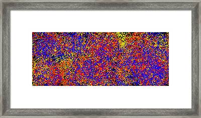 Stattic Exsplosion Framed Print