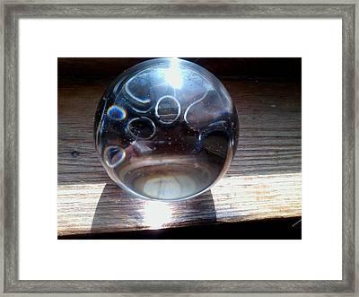 Static Spheres Framed Print by Jaime Neo