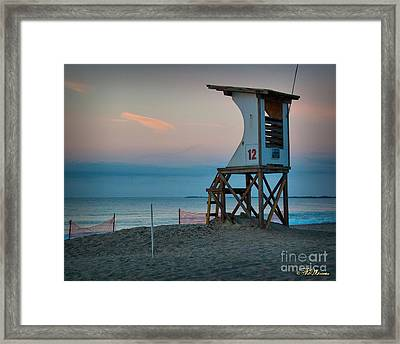 Framed Print featuring the photograph Station 12 At Sunrise by Phil Mancuso