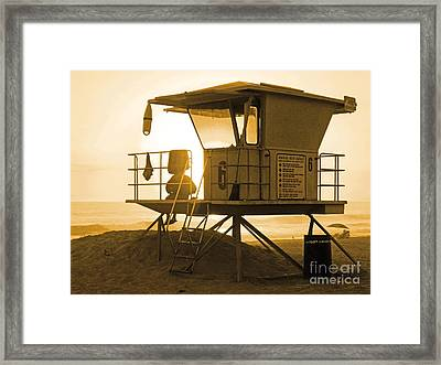 Station 6 Framed Print