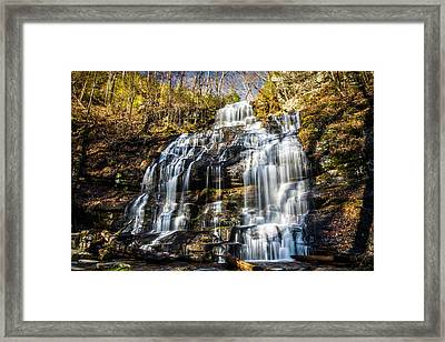 Station Cove Falls Framed Print