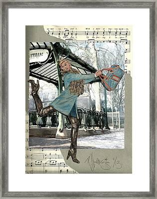 Station Dance Framed Print