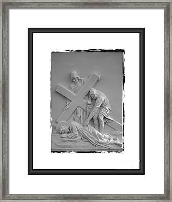 Station I X Framed Print