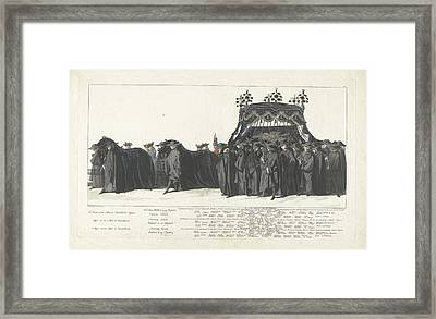 Station Of William Iv, 1752, Plate 27, Jan Punt Framed Print by Jan Punt