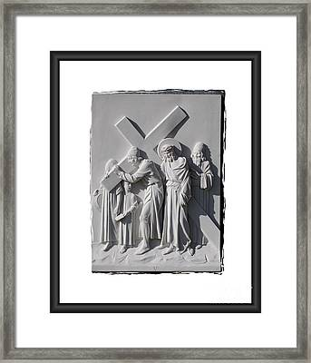 Station V Framed Print