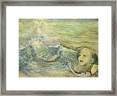 Station Xv The Resurrection Of Jesus Framed Print