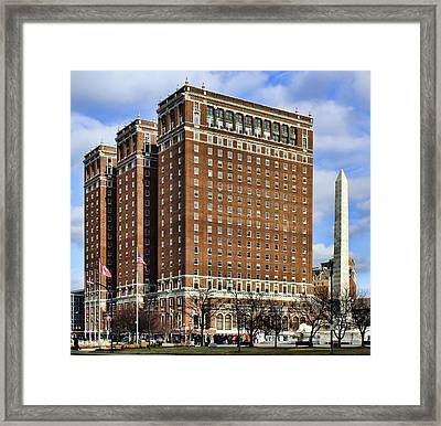 Statler City Framed Print by Peter Chilelli