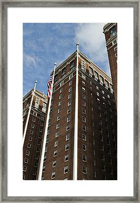Statler Towers Framed Print by Peter Chilelli