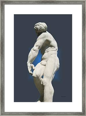 Statue 10 Framed Print by Thomas Woolworth